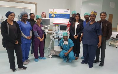 Dräger is celebrating the delivery of Primus number 50 000 to Far East Rand Hospital