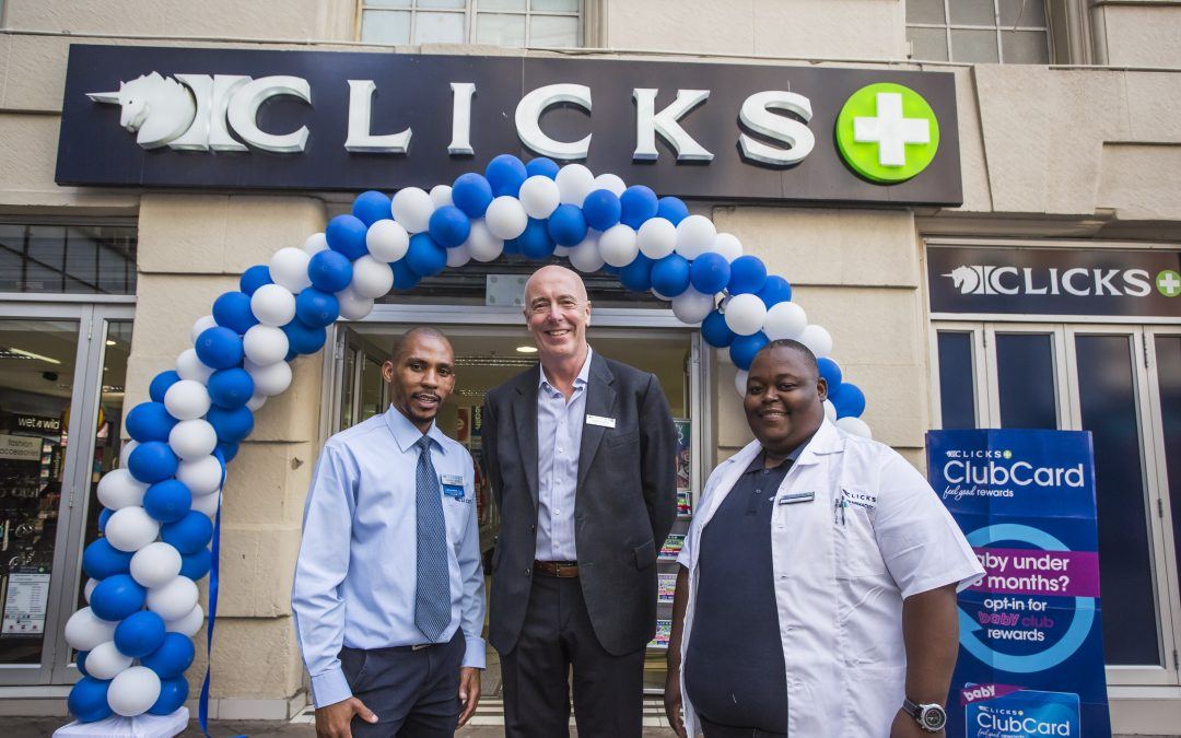Clicks celebrates 500th pharmacy opening