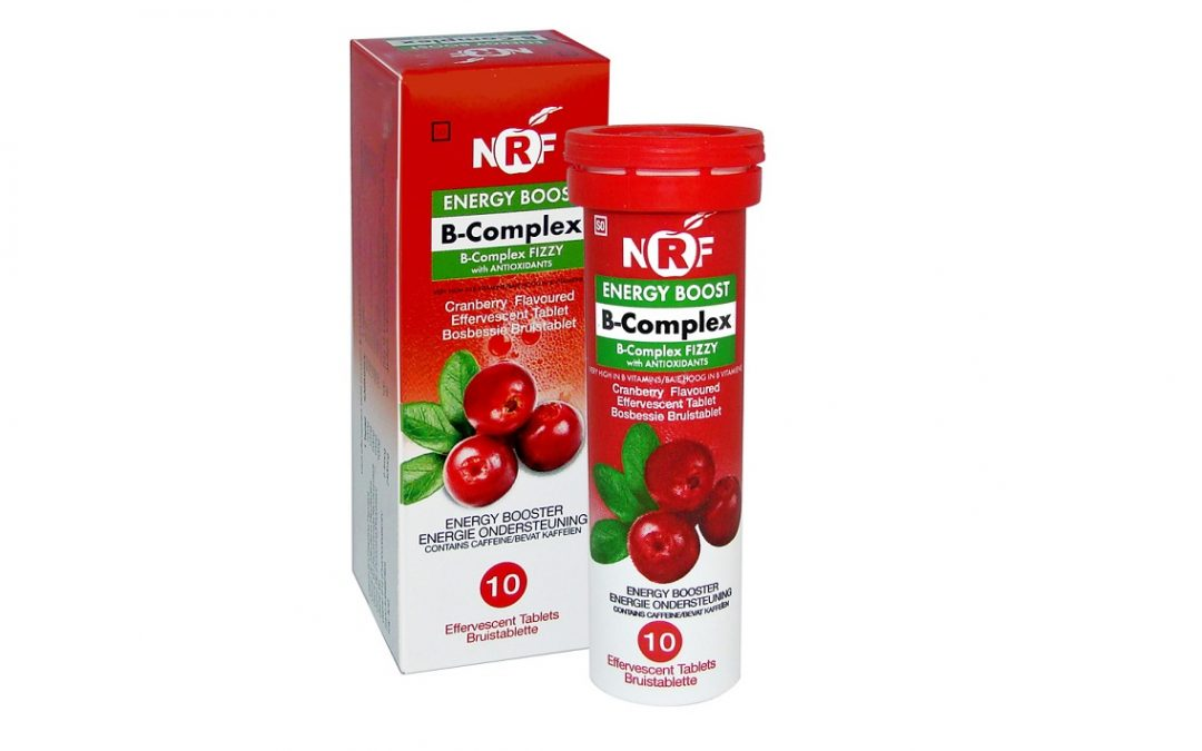 NRF B-COMPLEX FIZZY – instant energy boost